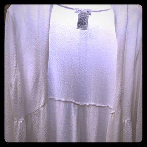 White Sweater/Jacket/Tunic!